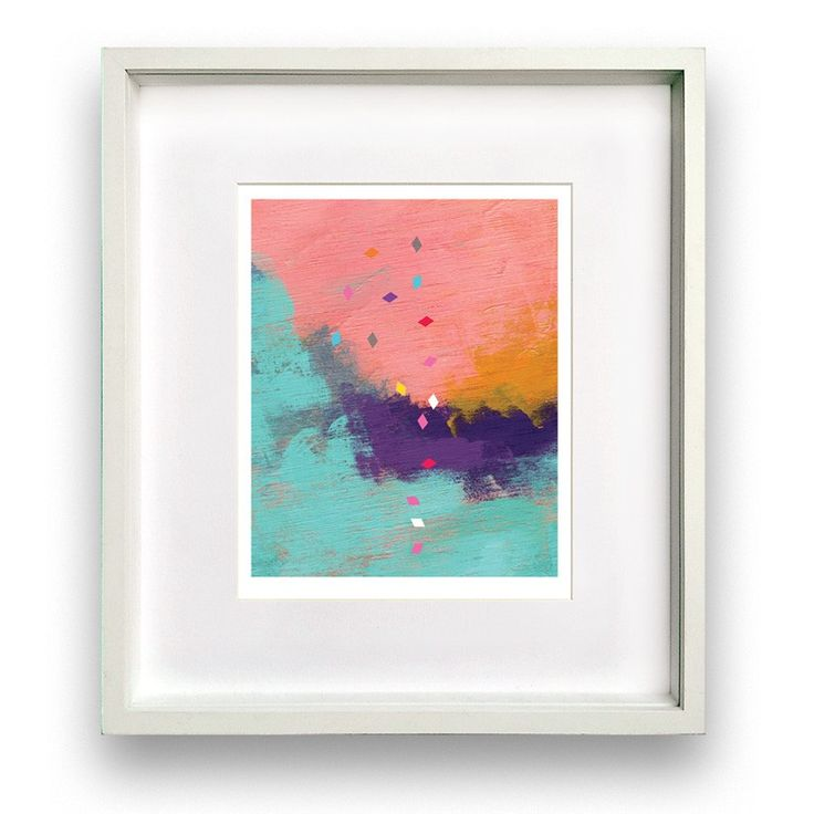 Coral - Art Print via Print Space