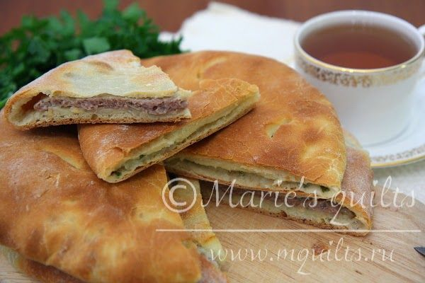 Marie's quilts: Осетинские пироги / Ossetian pie
