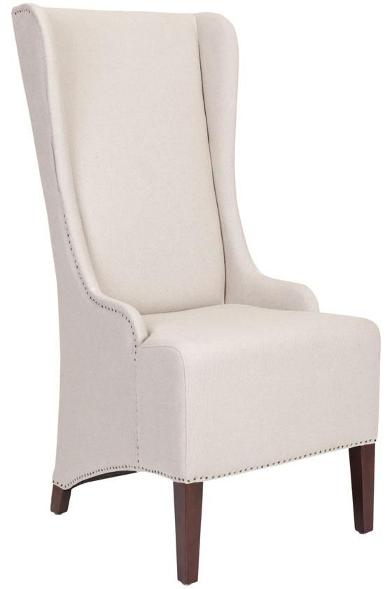 head of table phillips high back chair accent chairs living room furniture. beautiful ideas. Home Design Ideas