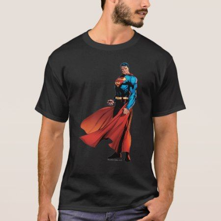 Superman Looks Front T-Shirt - tap to personalize and get yours