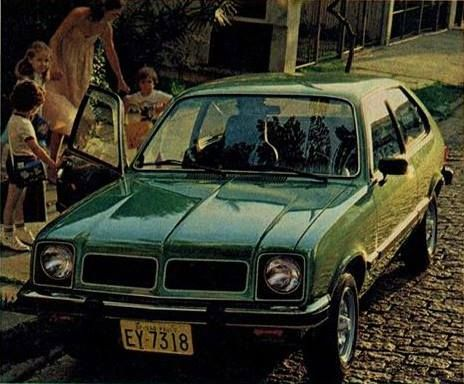 1980 Chevrolet Chevette Hatch - Brasil Maintenance/restoration of old/vintage vehicles: the material for new cogs/casters/gears/pads could be cast polyamide which I (Cast polyamide) can produce. My contact: tatjana.alic@windowslive.com