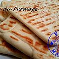 Naans au fromage ( au thermomix )