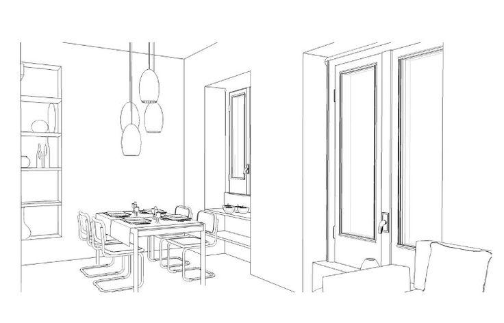 Esami finali Corso di Interior Design (www.madeininterior.it): progetto di interni, Simonetta Sala