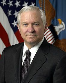 Dr. Robert Gates. former Secretary of Defense but most importantly former President of Texas A&M WHOOP! :)