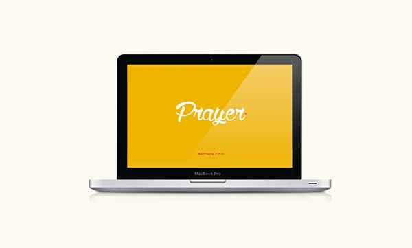 Prayer - Church Sermon Concept on Behance