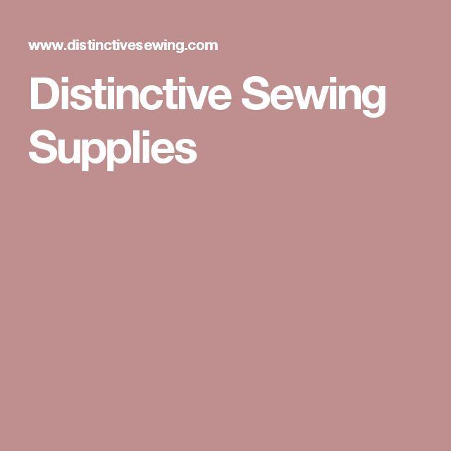 Distinctive Sewing Supplies