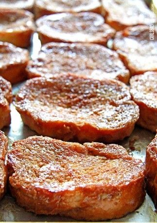 Creme Brulee French Toast ~ I adore crème brulee. It is good for any meal – breakfast, lunch or dinner. It is a pleasant continuation for the meal – the perfect dessert.