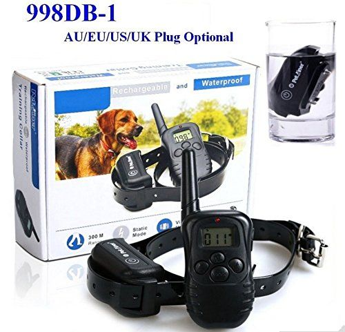 Dog Training Collar with Rechargeable and Waterproof Remote Training Collar Pet Trainer ** Remarkable product available now. : Dog Training and Behavior Aids
