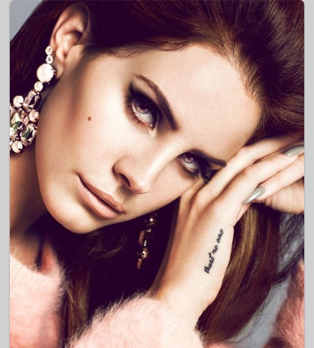 lana del rey tattoo die young - photo #39