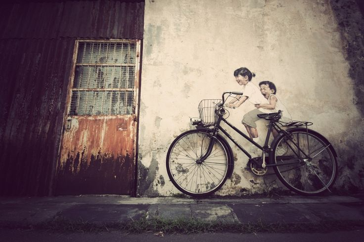 LET THE PICTURE PAINT ITSELF by Firdaus Hadzri, via 500px: Photos, Idea, Bike, Art, Pictures, Bicycle, Firdaus Hadzri, Street Photography