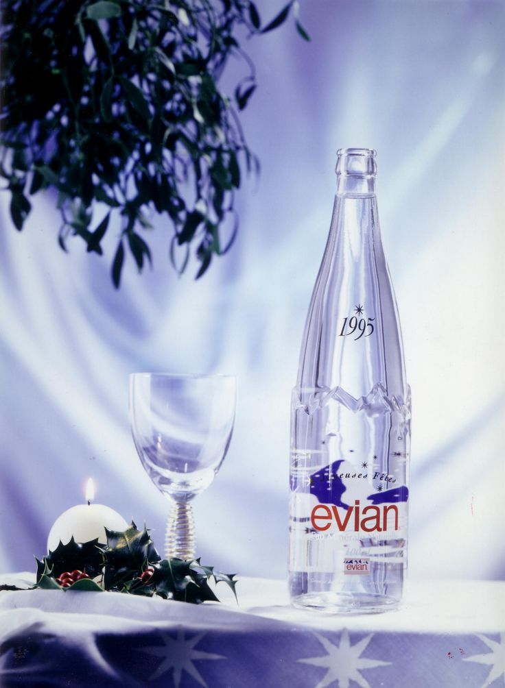 evian Design Edition Christmas 1995 #design #bottle #liveyoung