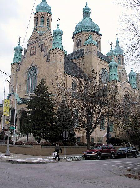 St. Nicholas Ukrainian Catholic Cathedral. Chicago