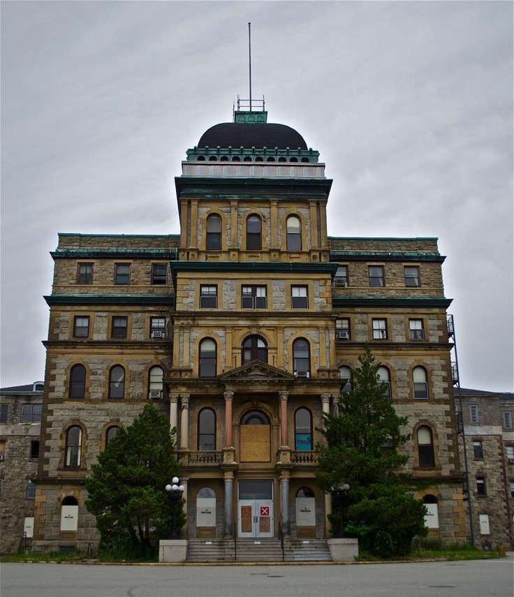 Kirkbride Building Of Greystone Psychiatric Center