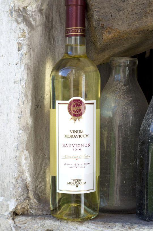 Bílé víno - Sauvignon 2010 Pozdní sběr - Vinum Moravicum a.s.