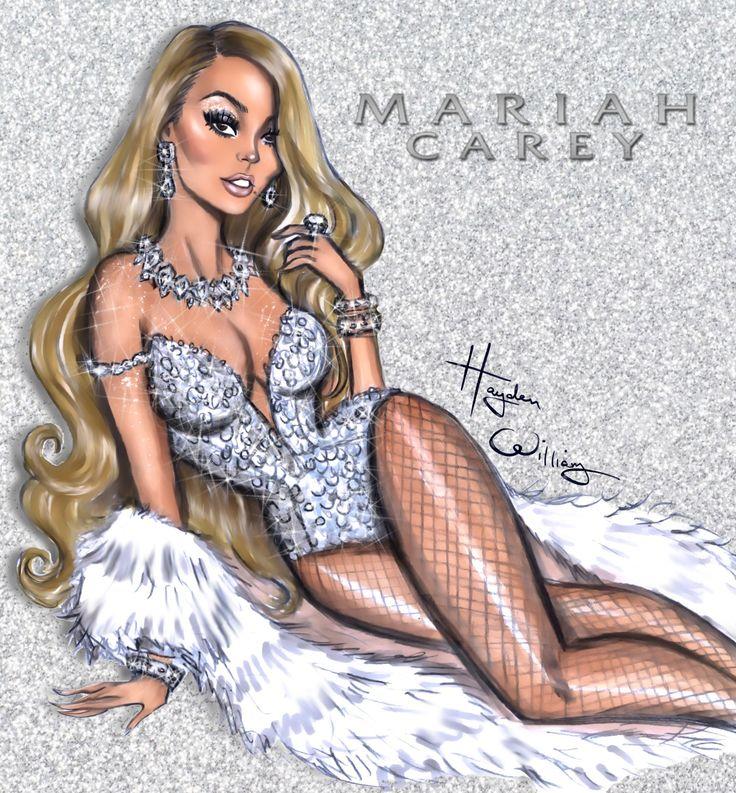 Everything is always so glam & festive in #MariahsWorld #MariahCarey