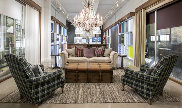 The Shade Store - The Shade Store provides customers with exceptional custom shades, blinds, and draperies, along with world-class service. Their products are assembled and stitched by hand, making every window treatment truly one-of-a-kind. #Modern #Traditional #Transitional #Contemporary #WindowTreatments