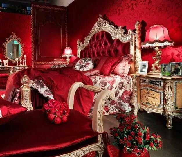 Classic Furniture, Bedroom Red
