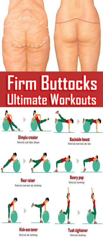 How to workout the buttocks