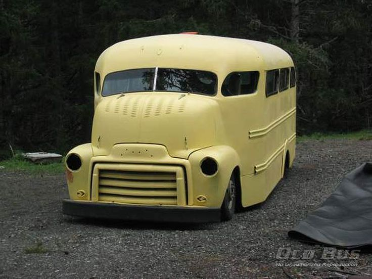 Old GMC Cabover Trucks | 1953-gmc-custom-cabover-bus-14