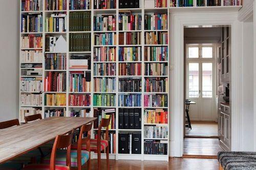 Afbeeldingsresultaat voor billy boekenkast wand