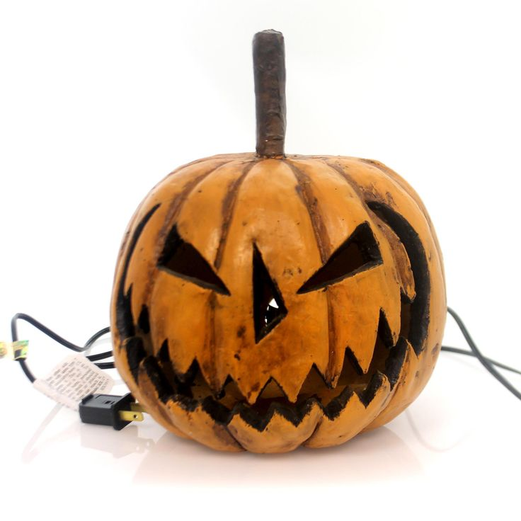 Halloween Sinister Pumpkin Head Halloween Decor