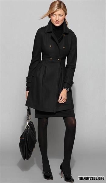 Осенние пальто женские модели