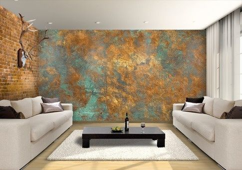 acid wash metal wall - Google Search