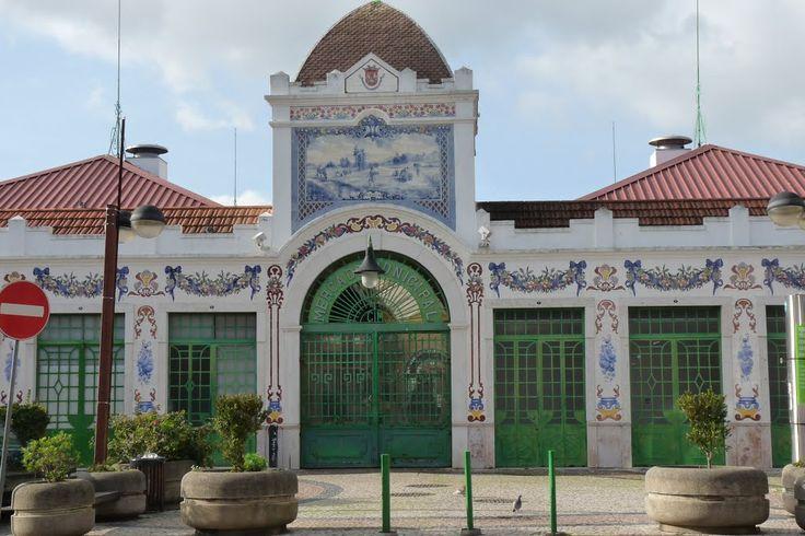 Exterior do mercado de Vila Franca de Xira