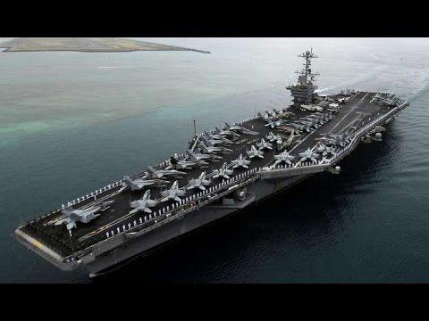El Portaaviones más poderoso del mundo - USS Ronald Reagan