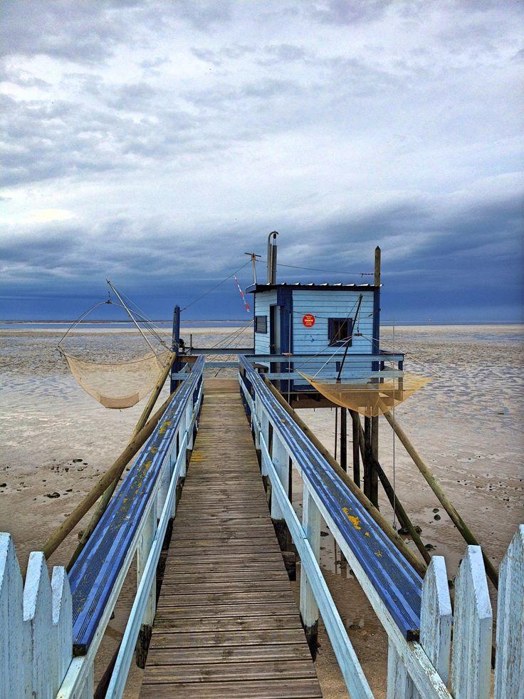 Carrelet de la plage de l 39 esp rance fouras pays - Office de tourisme de charente maritime ...