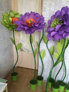 Resultado de imagen de бумажные цветы