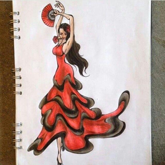 flamenco dancer Violet - One Piece