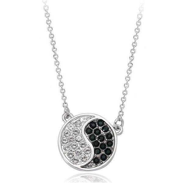 Мода ювелирные изделия yinyang кулон восемь диаграммы ожерелье, лучший продаем монеты кулон ожерелье