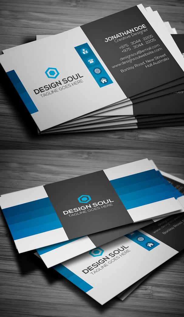195 best BUSINESS CARDS images on Pinterest | Business card design ...
