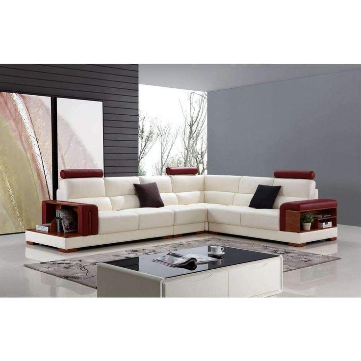 Die besten 25+ Red leather sectional Ideen auf Pinterest Lederne - wohnzimmermobel modern