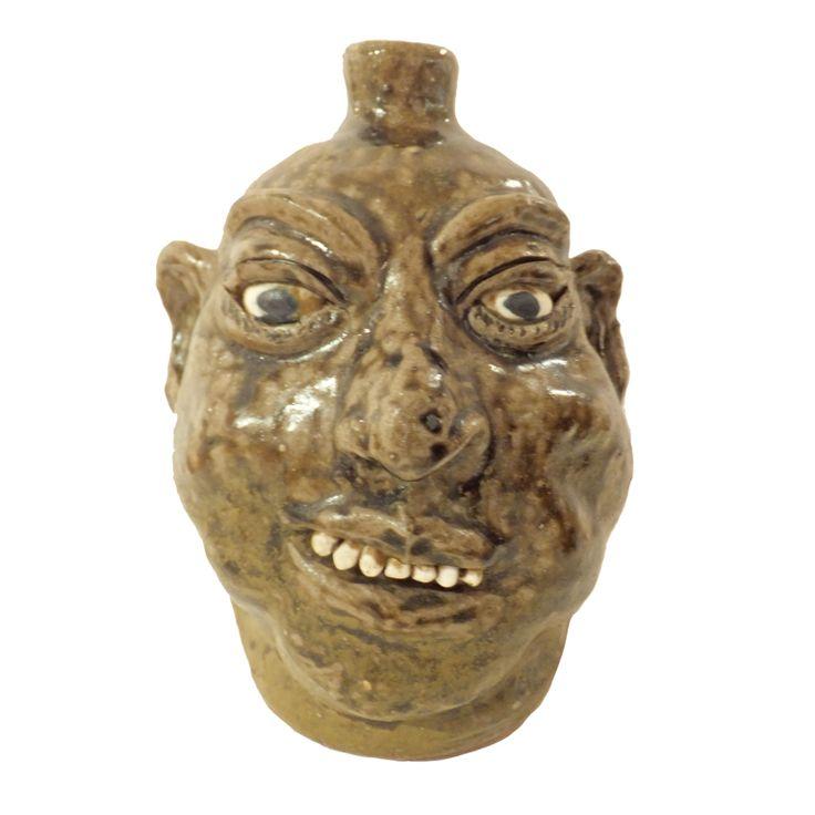 Lainer Meaders (1917-1988) | Face Jug