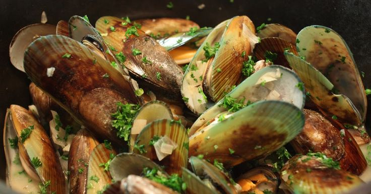 Mussels mariniere style 2017 yummy #vegan #vegetarian #glutenfree #food #GoVegan #organic #healthy #RAW #recipe #health #whatveganseat
