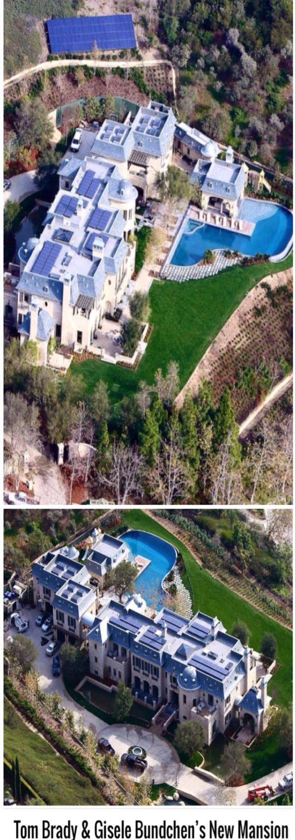 Tom Brady & wife Gisele Bundchen' s new Luxury Mansion