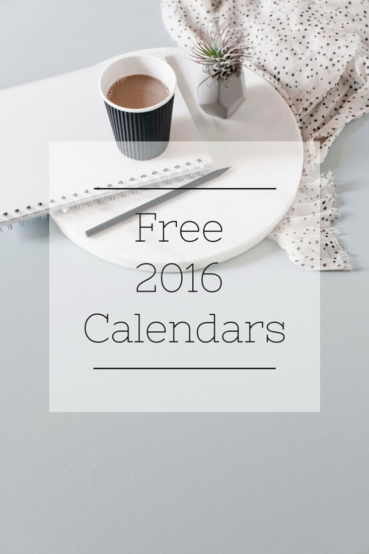 share!00001Looking to get organized this year? These 12 FREE 2016 Calendars are sure to help!   I don't know about you my friends, but I'd be utterly lost without my calendar. With SO much going on these days, it's the only way I can keep it all straight. Honestly, if it's not on my calendar, it's probably going to get missed. A new year, means a new calendar and a new way to get our lives organized once again....  Read more »