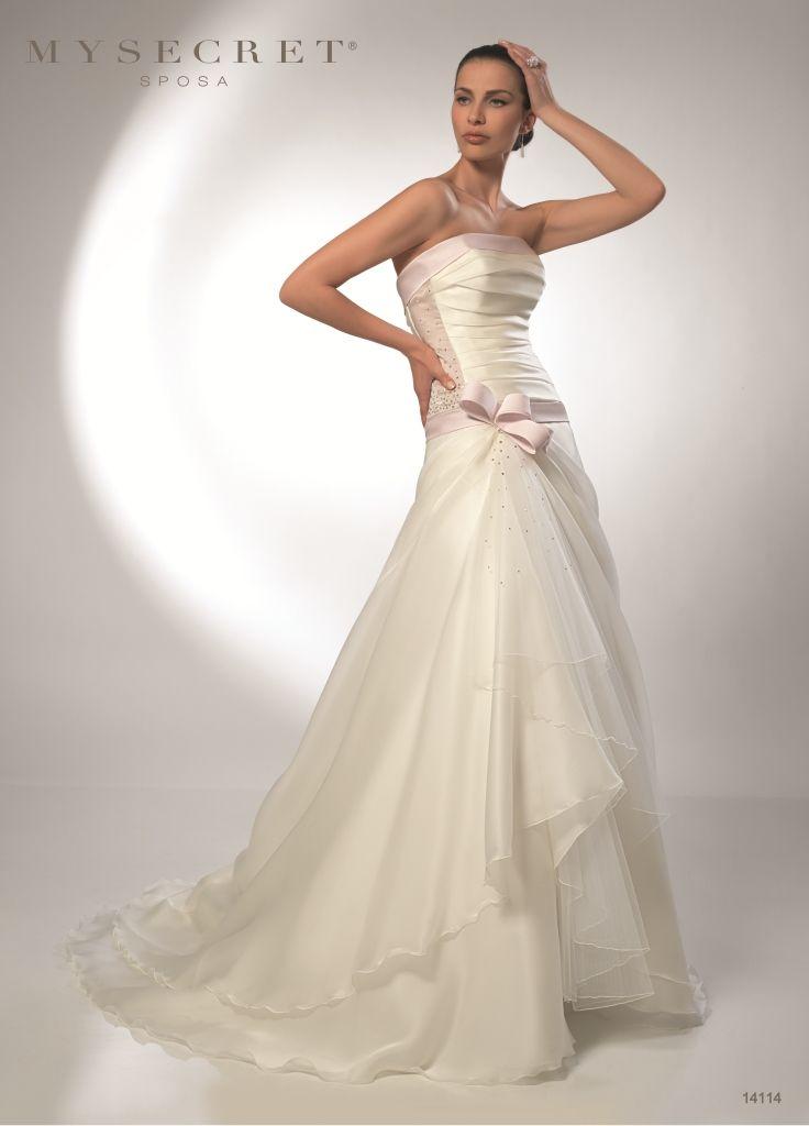 Abito Sposa Ampio My Secret sposa http://www.nozzemeravigliose.it/matrimonio/atelier-sposa/bari/my-secret-sposa/397