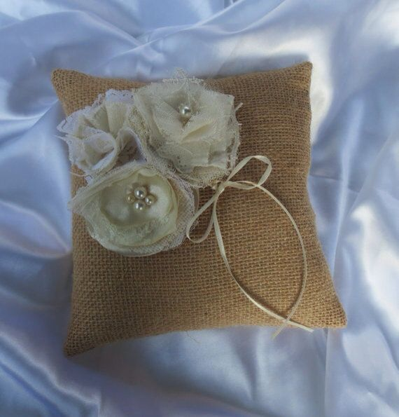 Cream and Ivory Bridal Wedding Flowers For Bridal Sash, Bridal Garters, Cream Satin & Ivory Lace Shabby Wedding Decorations/Flowers  on Etsy, $34.00