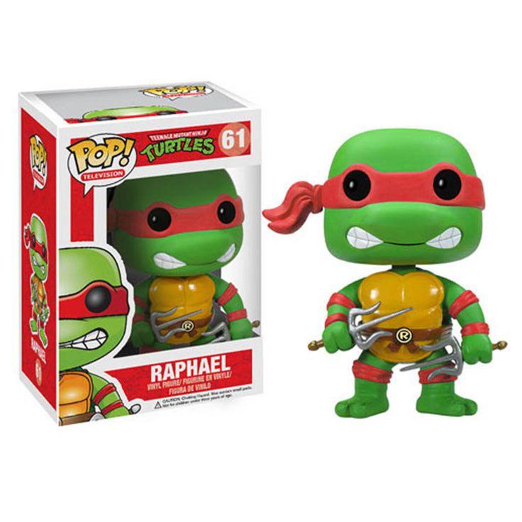Teenage Mutant Ninja Turtles POP Raphael Vinyl Figure - Radar Toys