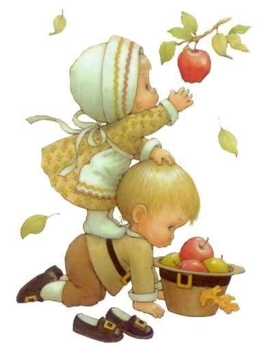 Colhendo maçã