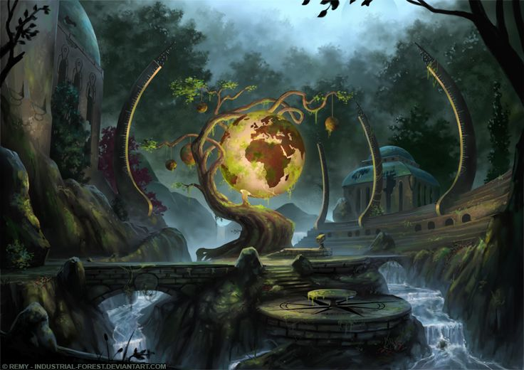 The Globe Tree by Industrial-Forest on DeviantArt