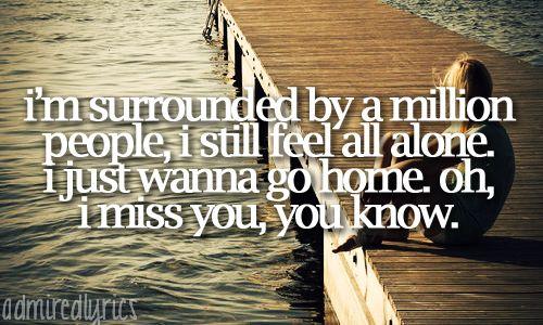 Michael Buble lyrics home