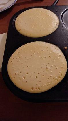 Crêpes au lait concentré non sucré