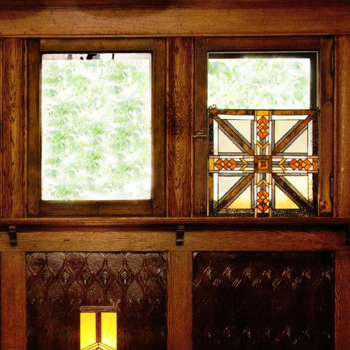 Found it at Wayfair - Stained Glass Southwestern Mission Style Window Panel
