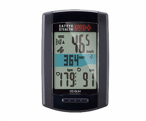 Cateye Stealth Evo+ GPS Cycling Computer CC-GL51
