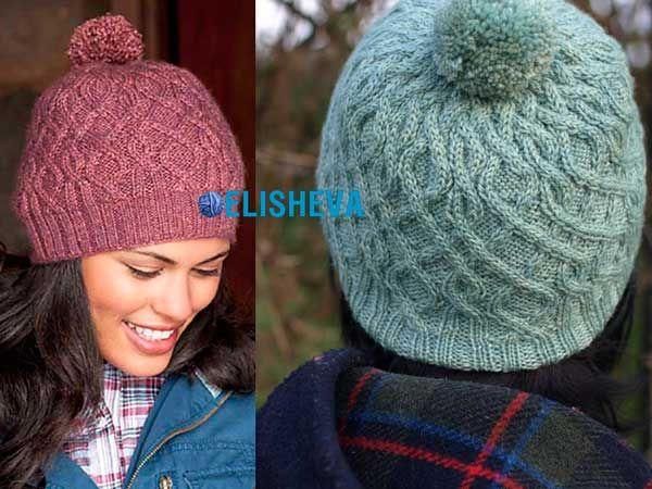 Невероятно красивая женская шапка от Kate Gagnon Osborn. Бесплатная схема