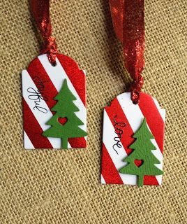 I'm in Haven: Christmas Tags Round 1